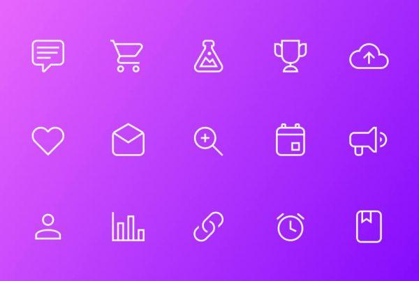 Set di icone cover image